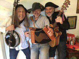 banjo, guitare et accordéon